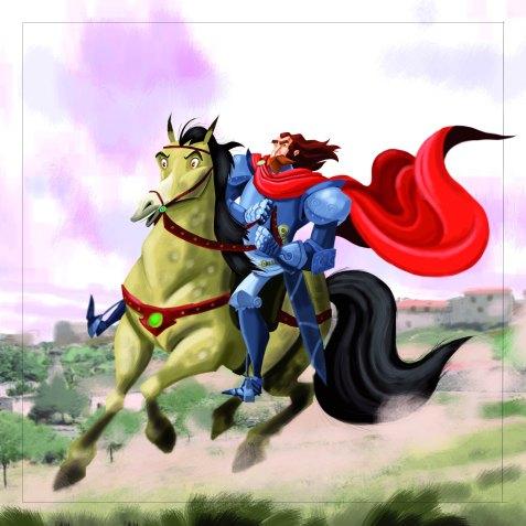 GULO _ Babi cabalgando con el Cid copia